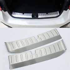 Fit For Subaru XV Impreza Inner Rear Bumper Protector Boot Cargo Sill Cover Lip