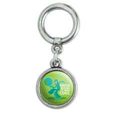 Gumby Green Before It Was Cool Earth Planet Shoe Sneaker Shoelace Charm