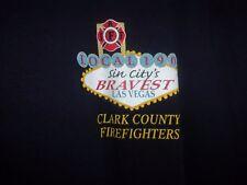 Fire Dept Sin City Las Vegas sleeveless black graphic XL t shirt 08 convention