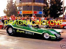 """Al Segrini 1982 """"Super Brut"""" Dodge Omni NITRO Funny Car PHOTO!"""
