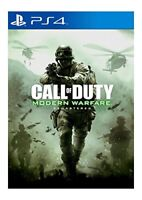 NEW & SEALED! Call of Duty Modern Warfare Remastered Sony Playstation PS4 Game