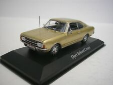 Opel Rekord C Coupe 1966 Gold 1/43 maxichamps 940046120 New
