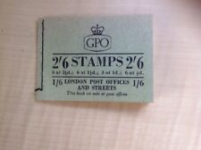 Great Britain Stamp Booklet 2/6 May 1956 F42