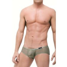 (L) GreggHomme Men's Torrid Sheer Boxer Briefs Taupe
