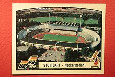 Panini EURO 88 N. 36 STUTTGART NEW WITH BACK VERY GOOD / MINT CONDITION