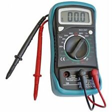 Faithfull FAIDETMULTI Multimeter voltage, current & resistor tester LCD Display