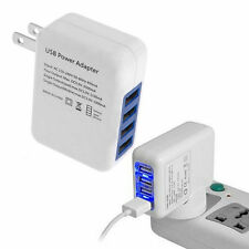 2.1A 4 Ports USB Portable Home Travel Wall Charger US Plug AC Power Adapter LY