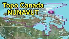 Garmin TOPO Canada v4 North Territories NUNAVUT map