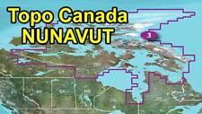 Garmin Topo Canada v4 North Territories Nunavut map