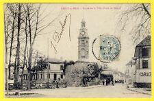 cpa 77 - CRECY en BRIE (Seine et Marne) Entrée de la Ville (Porte de Meaux)
