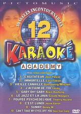 24042//KARAOKE ACADEMY VOLUME 12  10 SUCCES INCONTOURNABLES DVD NEUF