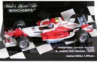 MINICHAMPS 400 050038 Panasonic Toyota TF105 F1 die cast car R Zonta Test 1:43rd