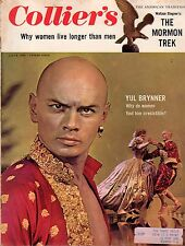 1956 Colliers July 6 - Mormon Trek;Yul Brynner;Pickwick LANDING Catfish;Viet Nam
