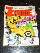 ZOMBIE Comic - No 3 - Alan Class & Co Comic