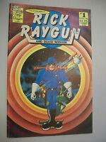 The Adventures of Rick Raygun and Quasi-Nodoze No. 1-Sept. 1986