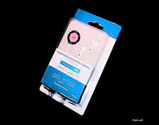 New Sony PSP Slim 2000 3000 Slim Pink Ear Phones + Remote UK