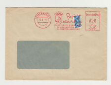 Freistempel (22a) ESSEN 12 8 49 HALA Papier mit Notopfer 2 Berlin