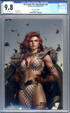 Red Sonja: The Superpowers #4  Yoon Virgin Variant  1st Print    CGC 9.8