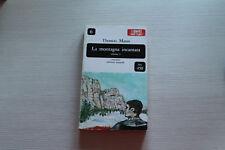 LA MONAGNA INCANTATA VOLUME 1- THOMAS MANN - DALL'OGLIO 1965