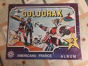 TRES  RARE Album Goldorak Panini France Americana FRANCE  1978 Toei Animation
