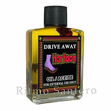 HOT FOOT SPIRITUAL OIL Ritual Spell Wicca Drive Away Enemies Rid Unwanted People