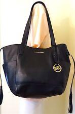 Milchael Michael Kors Ashbury Large Black Pebbled Leather Grab Bag, Shoulder Bag