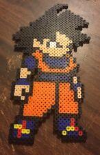 Dragon Ball Goku Z Super Gt Saiyan Handmade Bead Sprite 8 Bit Perler Hama