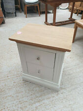 Sennen Two Drawer Bedside Table