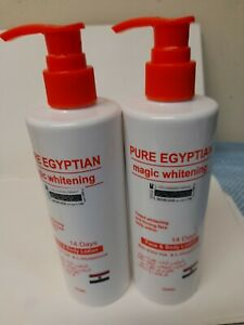 PURE EGYPTIAN MAGIC CARROT WHITENING FACE & BODY LOTION | L-glutathione + Carrot
