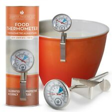 Kitchen Food Thermometer For Cooking Meat With Storage Case And 5 Steel Probe