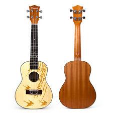Kmise Professional Concert Ukulele Hawaii Guitar 24 Inch laminated  Spruce-D