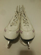 American Athletic Shoes Womens White Figure Skates Size 9