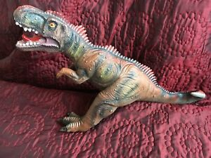 "Dinosaur Toy Large 21"" T- Rex Stuffed Rubber Squashy Preschool Kids Christmas"
