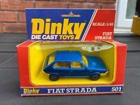 Dinky 501 Fiat Strada In Its Original Box - Near Mint Ex Shop Stock Quality