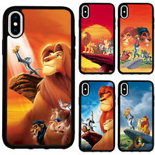 The Lion King Simba Cartoon Silicone Case Cover for iPhoneSE 2020 XR X 7 8 Plus