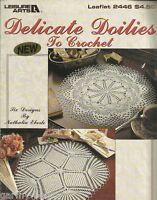 Delicate Doilies to Crochet Nathalia Eberle Instruction Patterns LA 2446