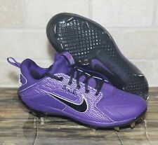 Nike Alpha Huarache Elite Low TCU PE Baseball Cleats Texas C  924487 500 Sz 10.5