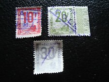 FRANCE - timbre yvert et tellier colis postaux n°10 a 12 obl (A14) stamp french