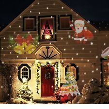 LED Projector Halloween Christmas Outdoor Lights Party Lawn Lamp 12 Patterns