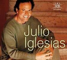 All The Best - 3 DISC SET - Julio Iglesias (2017, CD NEUF)
