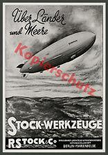 Robert Stock Maschinenfabrik Berlin-Marienfelde Zeppelin LZ 129 Hindenburg 1936