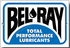 Bel-Ray Total Performance Schmierstoffe Metallschild, Garage werkstatt zeichen