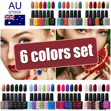 Ukiyo 6 Colors Soak Off UV Gel Polish Gelpolish Need Top Base Coat AU STOCK