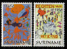 Surinam / Suriname 2001 Jeugdfilatelie youth philately jugend jeunesse MNH