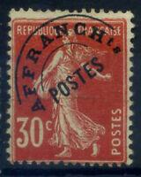 Francia 1922 Yv. 58 Senza gomma 100% Soprastampato 30 c., Seminatrice