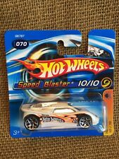 Hot Wheels 2005 Track Aces Speed Blaster White Short Card