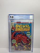 DEVIL DINOSAUR #1 1st MOON-BOY Appearance Marvel 1978 KIRBY CGC VF/NM 9.0