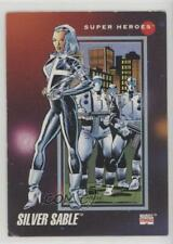 1992 Impel Marvel Universe Series 3 Silver Sable #65 mj9