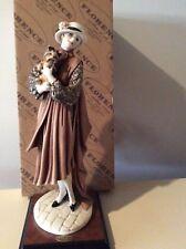 "Giuseppe Armani Figurine. "" Yang Lady With Yorkshire "" # 486C"