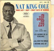 """NAT KING COLE """"IN THE COOL OF THE DAY"""" POP VOCAL JAZZ 60'S EP CAPITOL 1-20506"""
